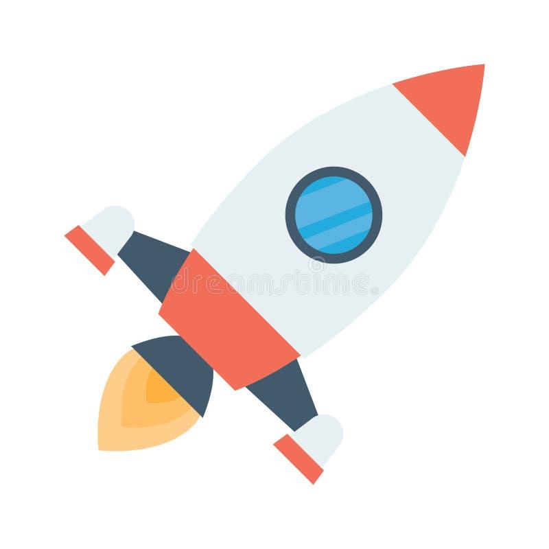 El vehículo espacial de Rocket saca libre illustration
