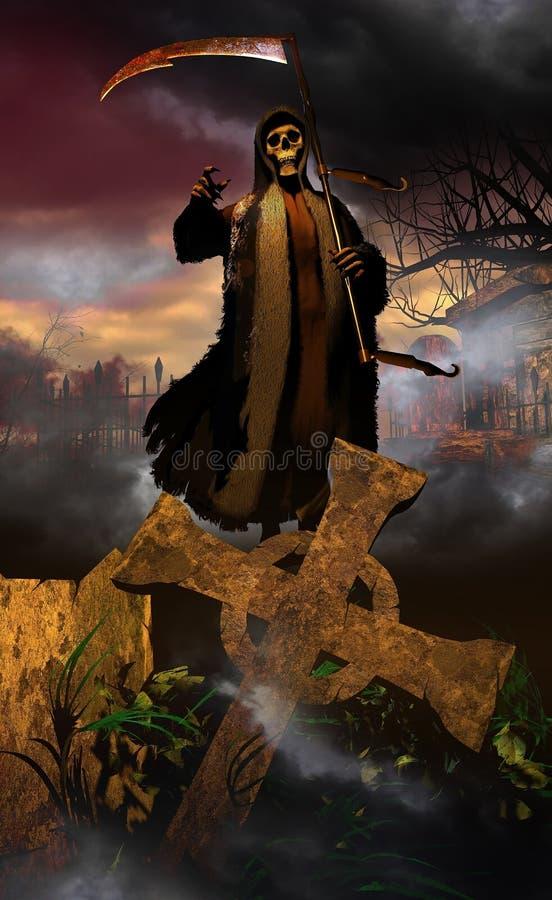 El venir de la muerte libre illustration