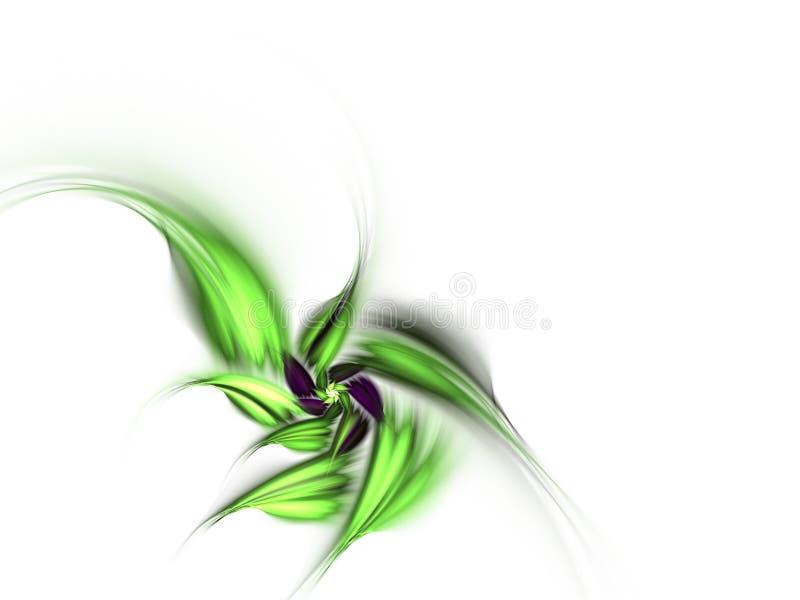 El verde deja fractal fotos de archivo libres de regalías