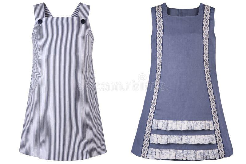 El vestido de los niños foto de archivo