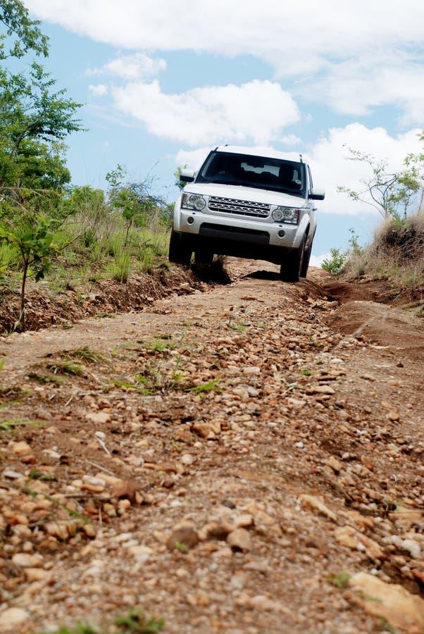 El viajar campo a través en Zambia, África fotografía de archivo libre de regalías