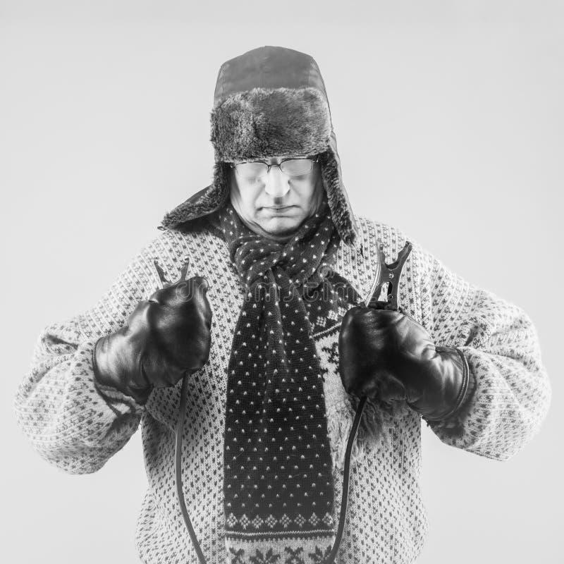 El viajar en automóvili del invierno fotografía de archivo libre de regalías