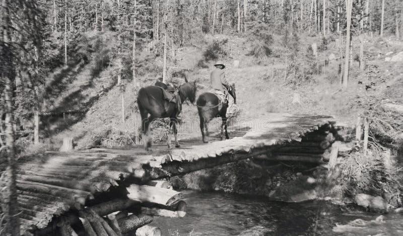 El viajar en el rastro otra vez circa 1916 imágenes de archivo libres de regalías