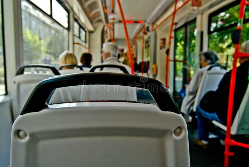 El viajar en omnibus foto de archivo libre de regalías