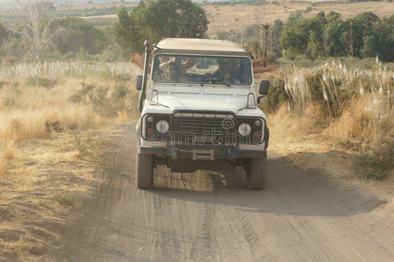 El viaje campo a través en Israel imagen de archivo libre de regalías