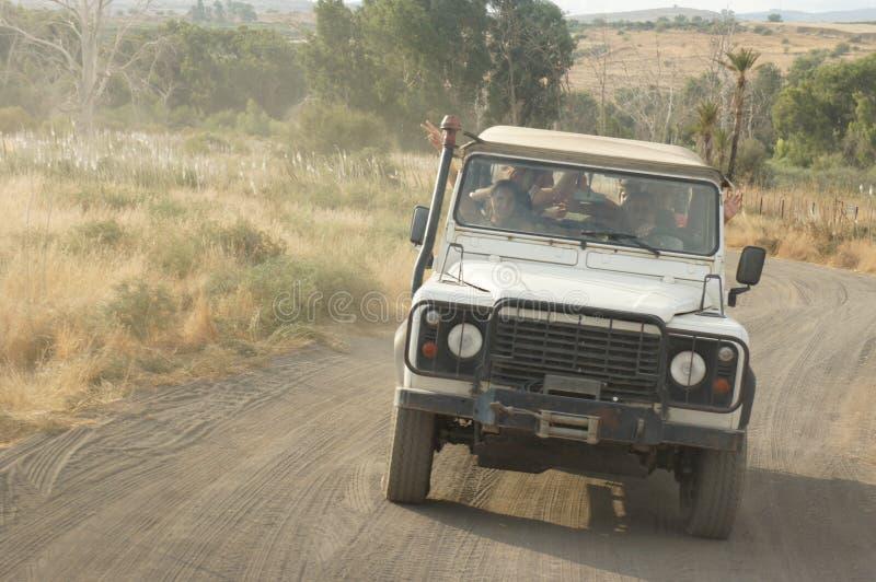 El viaje campo a través en Israel fotografía de archivo libre de regalías