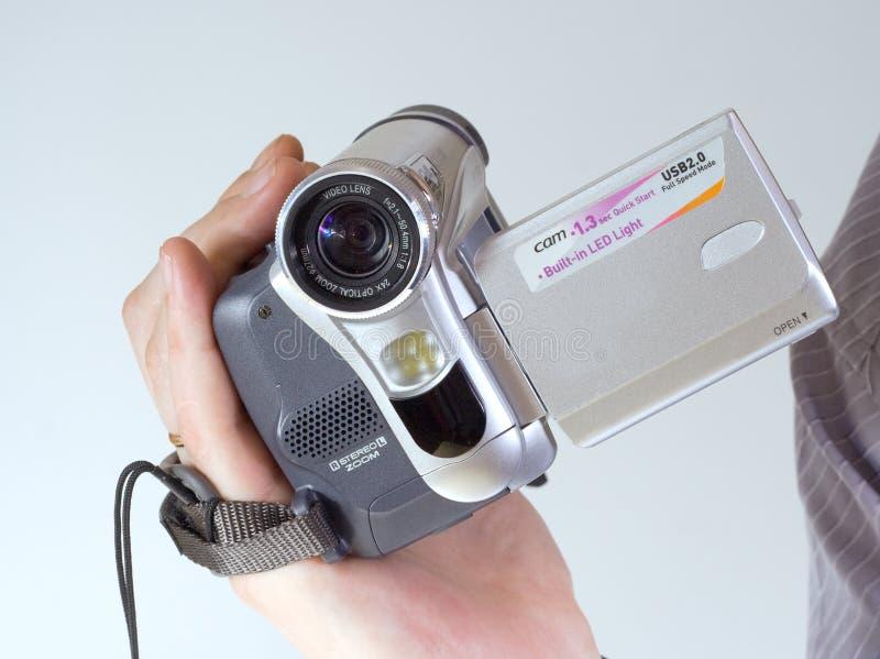 El videocámera digital fotos de archivo libres de regalías