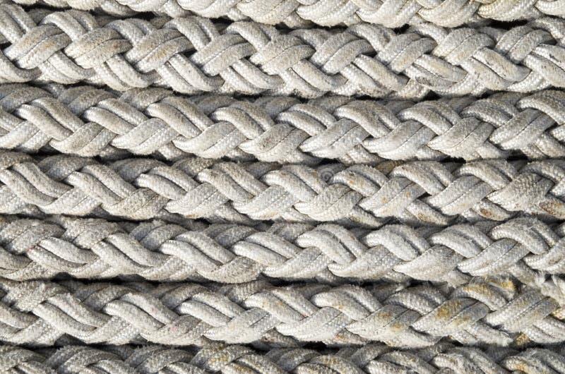 El viejo blanco ropes el primer imágenes de archivo libres de regalías