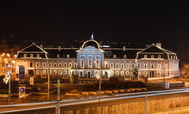 El viejo parlamento contiene Bratislava foto de archivo libre de regalías