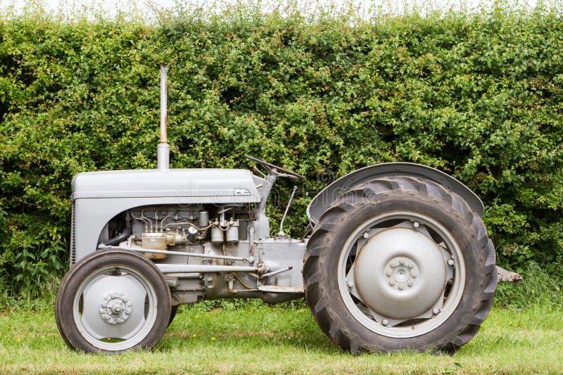 El viejo vado fergusen el tractor foto de archivo