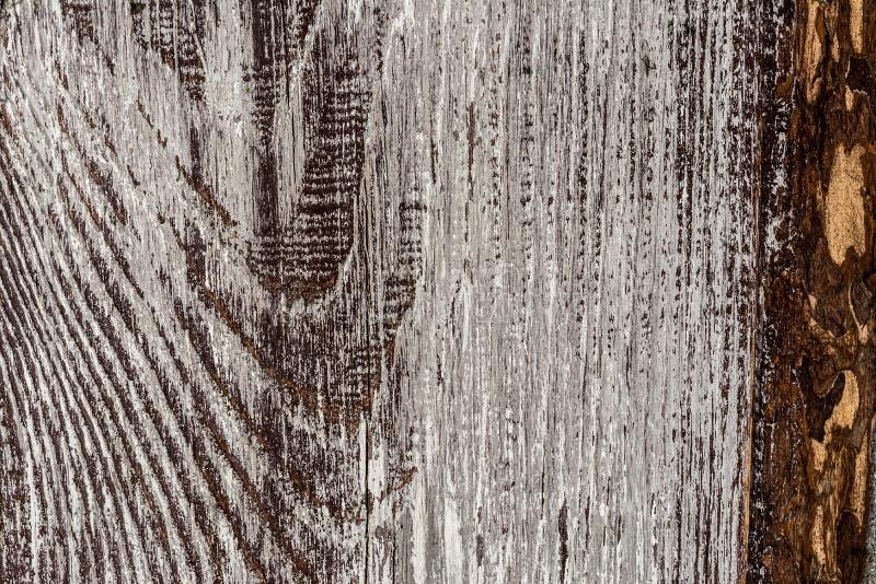 El viejos y resistidos fondo y textura retros del estilo del vintage de madera negro gris de la pared imagen de archivo