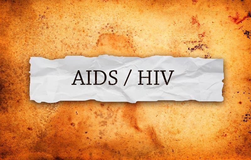 El VIH ayuda foto de archivo libre de regalías