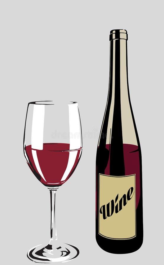 El vino foto de archivo