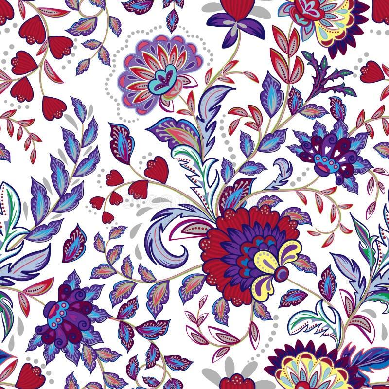 El vintage florece el fondo inconsútil en el estilo de Provence libre illustration