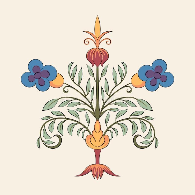 El vintage prospera vector del ejemplo del ornamento libre illustration