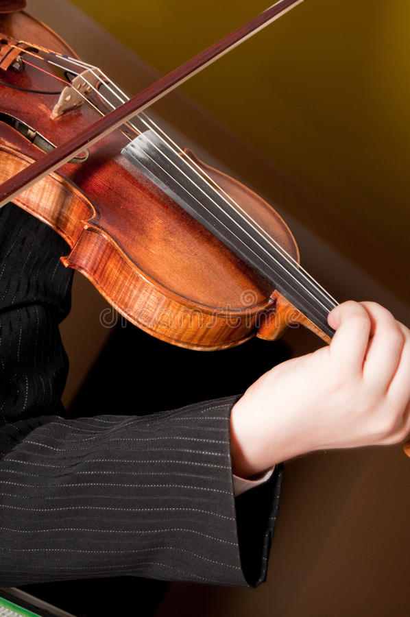 El violín fotografía de archivo