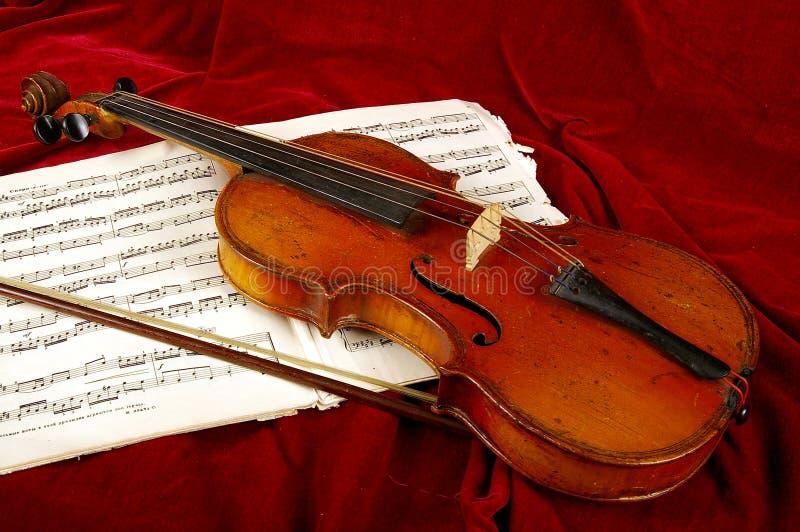 El violín foto de archivo libre de regalías
