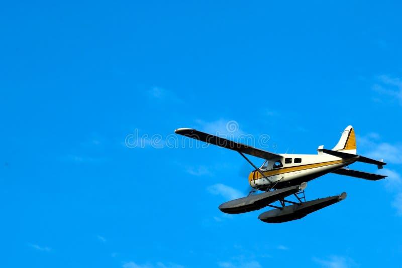El volar arriba foto de archivo