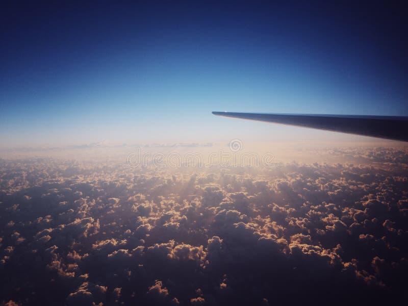El volar arriba fotografía de archivo
