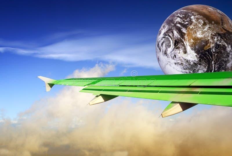 El volar más verde fotos de archivo