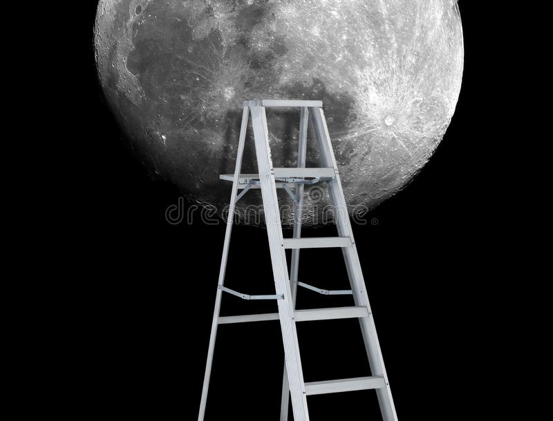 El volver a la metáfora de la luna imagen de archivo