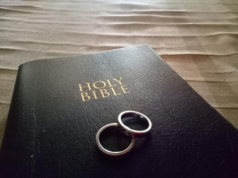 El voto de matrimonio fotografía de archivo