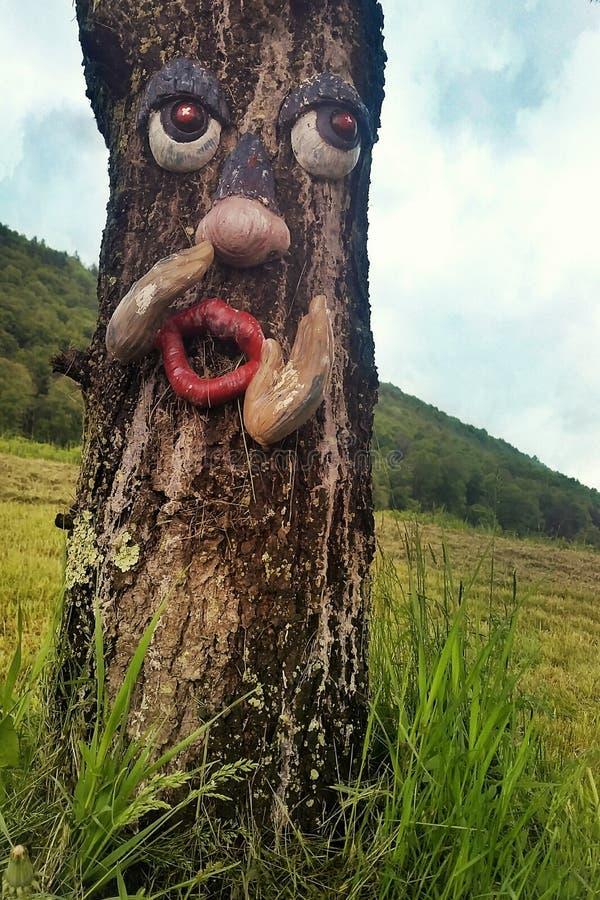El Whisperer del árbol imagenes de archivo