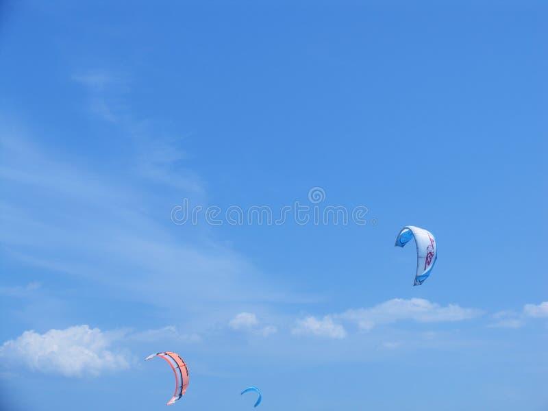 El Windsurfing vía las alas flexibles