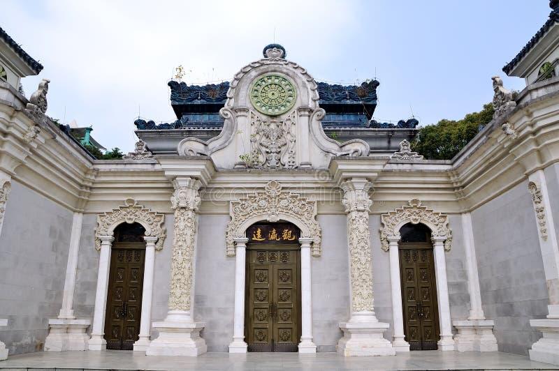 El ying europeo del yuan de la arquitectura guan fotografía de archivo