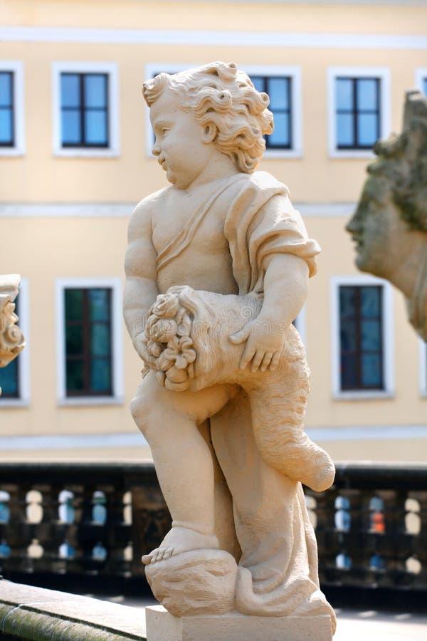 El Zwinger y el x28; Der Dresdner Zwinger y x29; es un palacio en Dresden, easte imagen de archivo