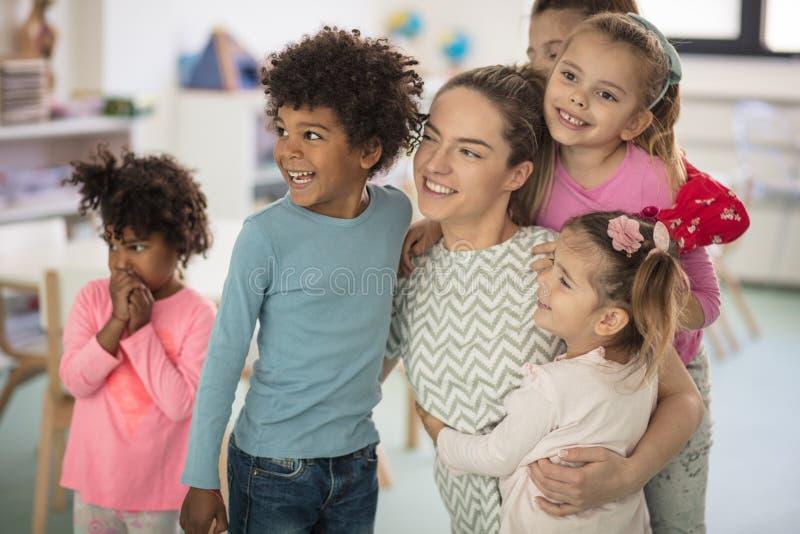 Ela amor do espinho para cada criança imagens de stock royalty free