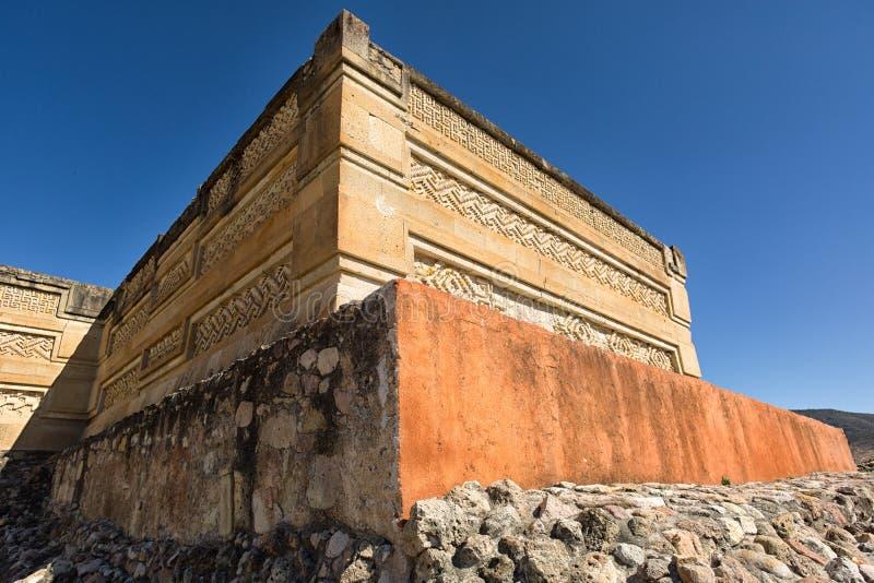 Mitla zapotec ruins Oaxaca Mexico stock photos