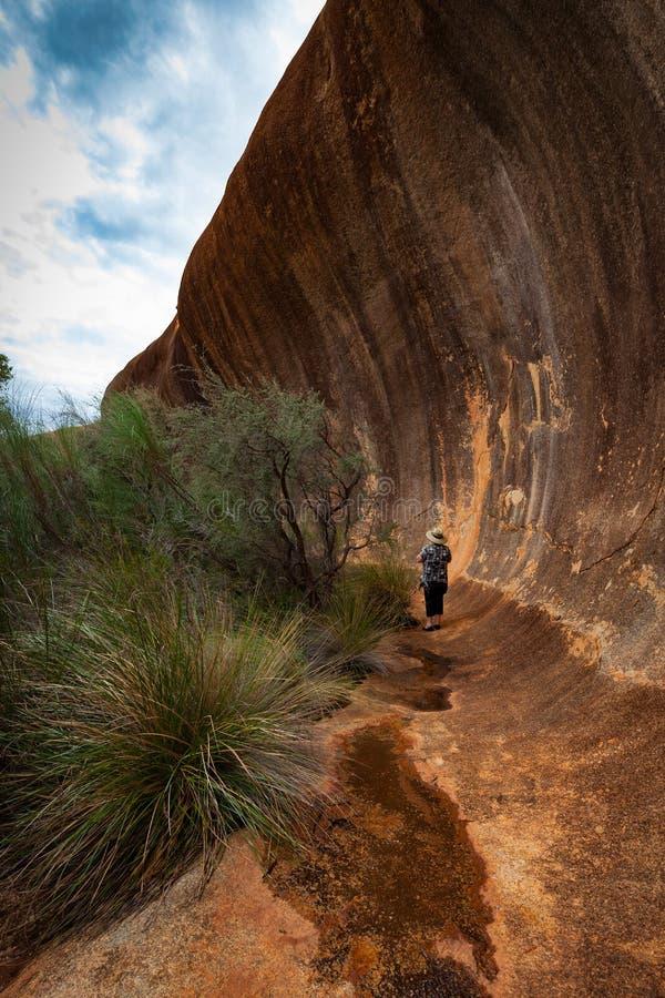 Elachbutting岩石,西澳州 图库摄影