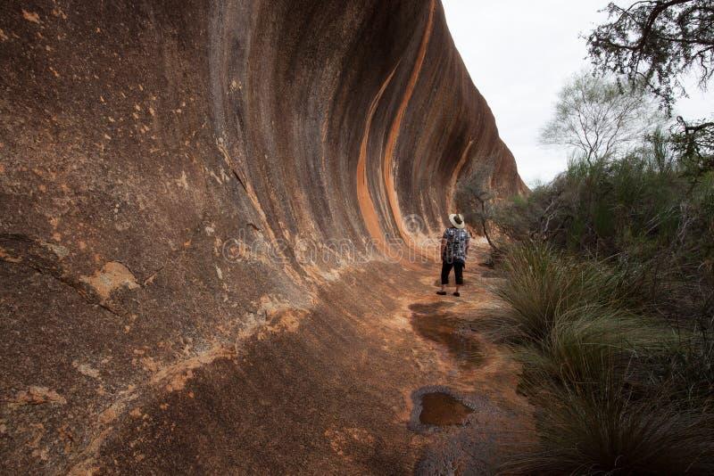 Elachbutting skała, zachodnia australia obraz royalty free