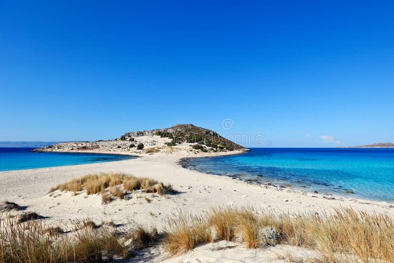 Elafonissos Insel, Griechenland lizenzfreies stockbild