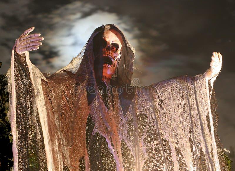 elakt troll halloween arkivbild