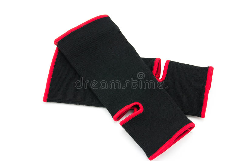 Elastic ankle support royalty free stock image