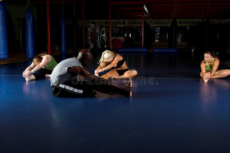 elasticiteten team upp varmt fotografering för bildbyråer
