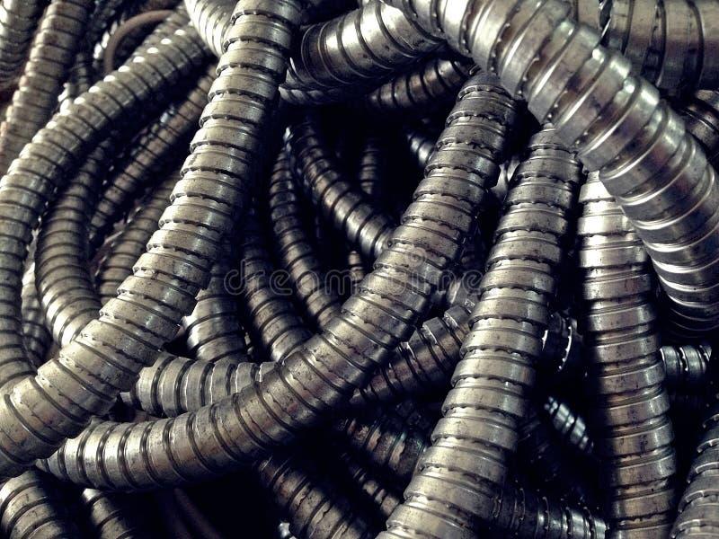 Elastycznego metalu przewód obrazy stock