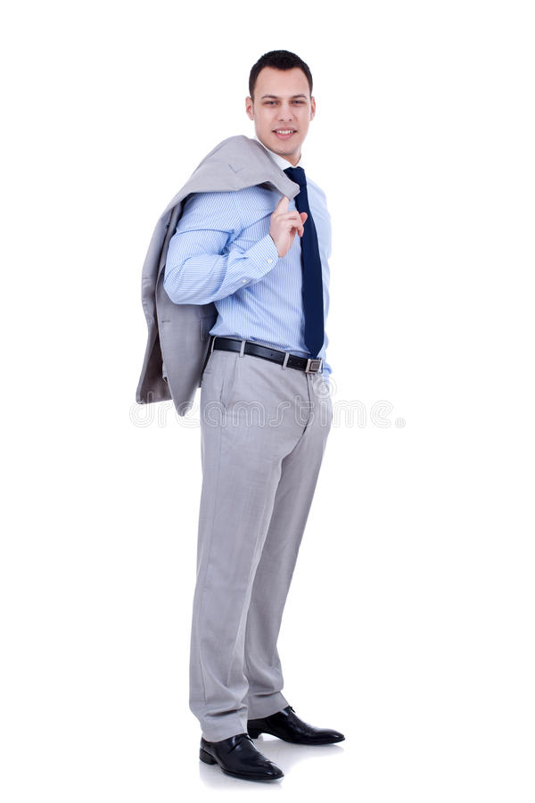 Download Elaxed young business man stock image. Image of handsome - 18360649