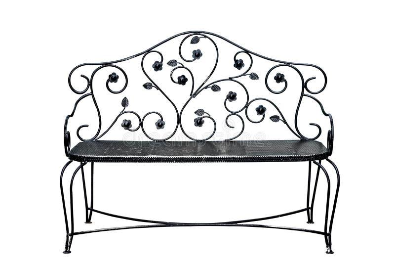 Żelazny krzesło zdjęcie royalty free