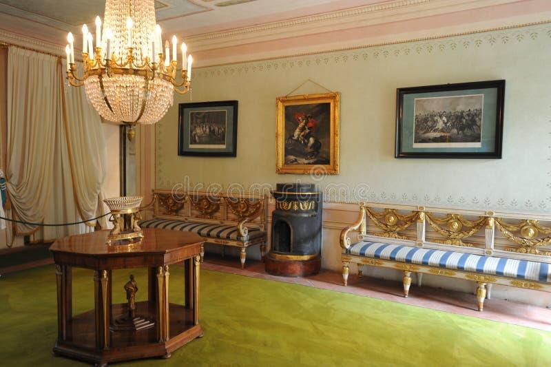 elba海岛拿破仑portoferraio住宅 库存照片