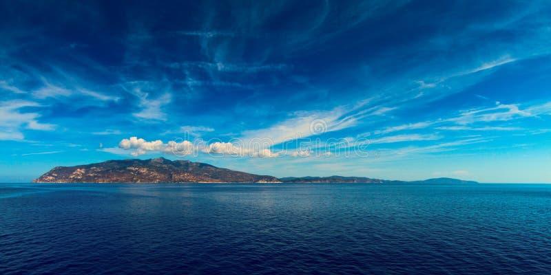 Elba Island imagen de archivo libre de regalías