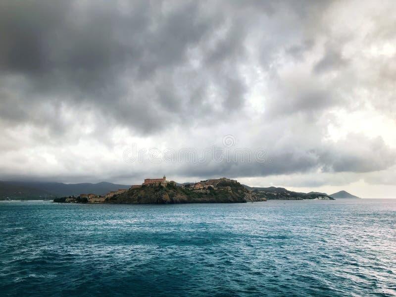 Elba island royalty free stock photo