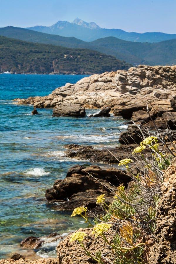 Elba Island, Tuscany, Itlay Royalty Free Stock Photography