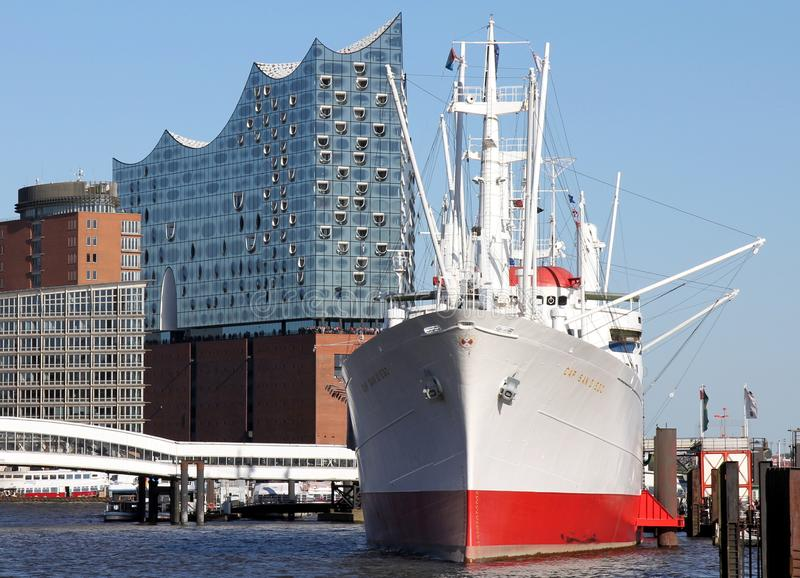 Elbe Filharmonische Zaal royalty-vrije stock fotografie