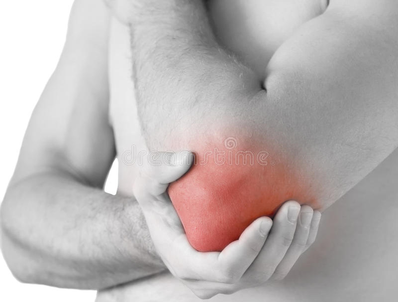 Download Elbow ache stock photo. Image of tender, accident, sports - 15393888