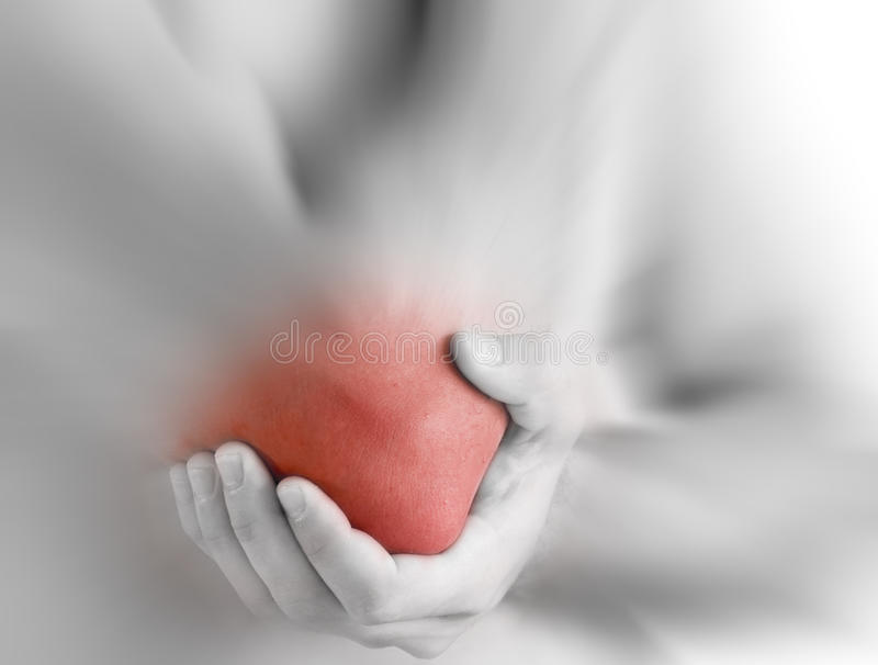 Download Elbow ache stock image. Image of pain, pull, tender, hand - 15412445