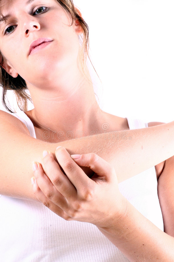 Elbow In Pain Stock Images