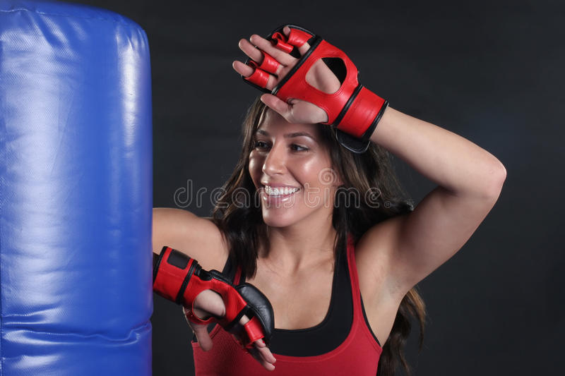 Download Elbow Strike stock photo. Image of strike, attractive - 19017336